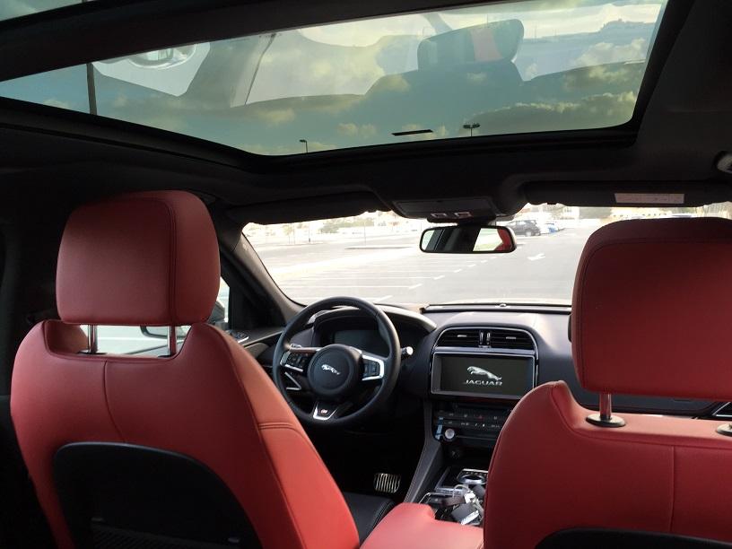 We review Jaguar F-Pace 2016 in Dubai