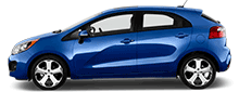 2014 Kia Rio Sedan For Rent