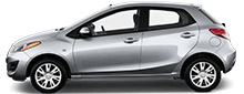 2014 Mazda 2 Hatchback For Rent