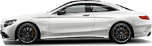 Mercedes S63 AMG Coupe For Rent